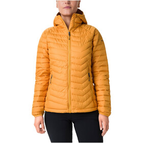 Columbia Powder Lite Capuchon Jas Dames, raw honey